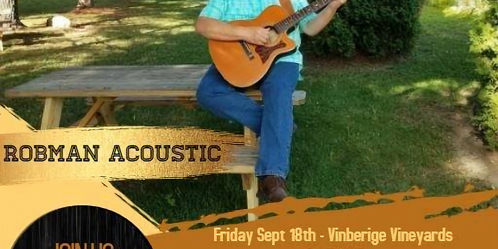 Acoustic Friday featuring Robman