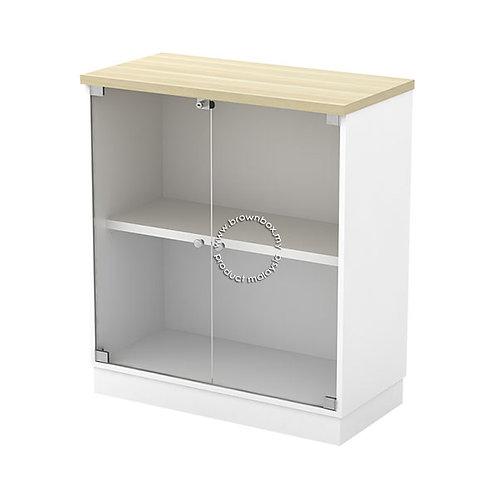 Glass Swing Door Low Cabinet B-YG 9