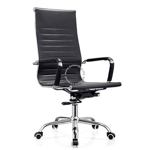presidential manager director boss staff meeting room eames leather chair malaysia
