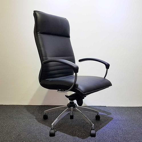 Lelong Corner: High Back PU Chair