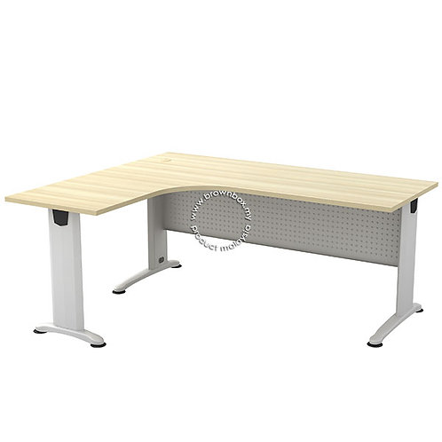 malaysia executive staff worker manager director straight l-shape office desk table design
