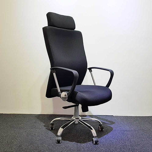 Lelong Corner: High Back Fabric Chair
