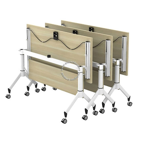 Flip top folding training table malaysia