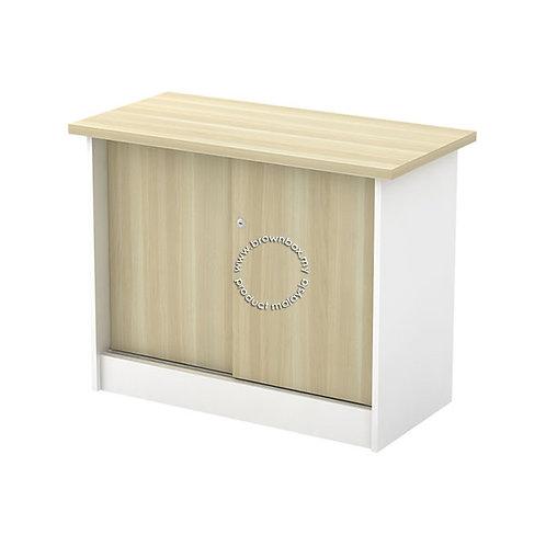 Sliding Door Side Cabinet (below table) B-YS 303