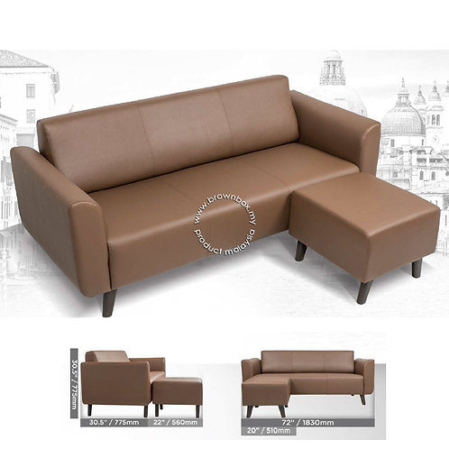 1 2 3 Seater sofa settee office lounge chair malaysia