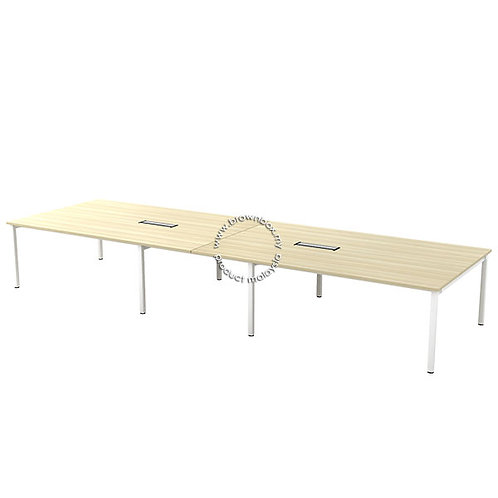 SL series 16 Feet Straight Meeting Table 14-18 Pax
