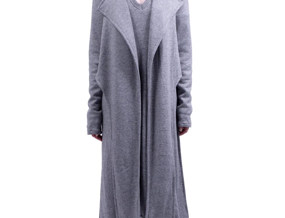 Long layered duster jacket