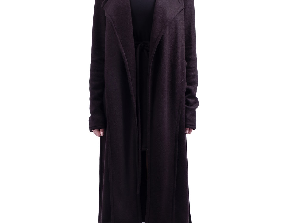 Long layered duster jacket
