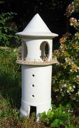 lampada faro in giardino