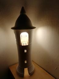lampada faro 2 accesa