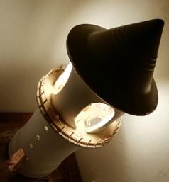 lampada faro 1 luce calda