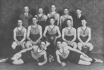 Grove City College 1923 Basketball Team.