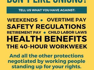 Reasons People Should Be Thankful for Unions
