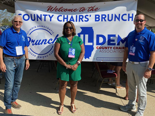 IFPE Local 4408 Members Attend Democratic County Chairs' Brunch