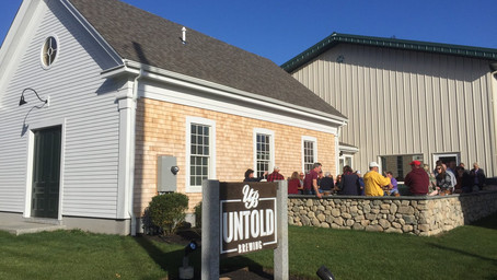 WITH THE HELP OF BECHTEL FRANK ERICKSON ARCHITECTS, UNTOLD BREWING WILL REOPEN ITS DOORS.