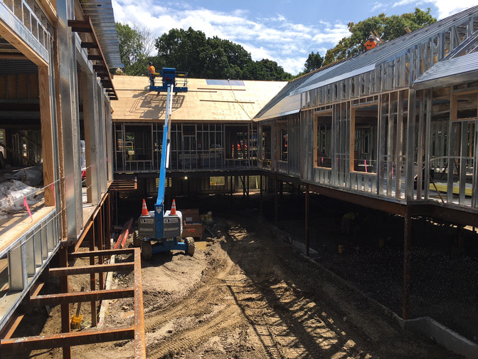 Construction Progress at Benchmark Newton Center!