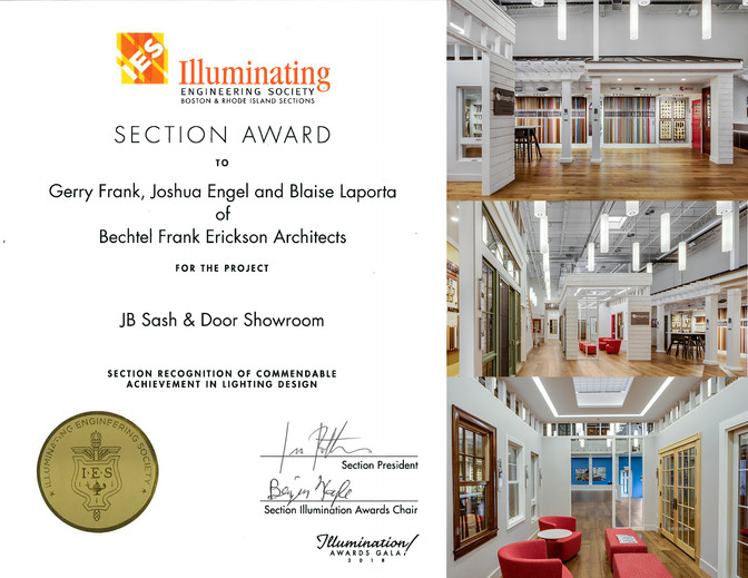 2018 IES Illumination Award for Energy and Environmental Lighting Design
