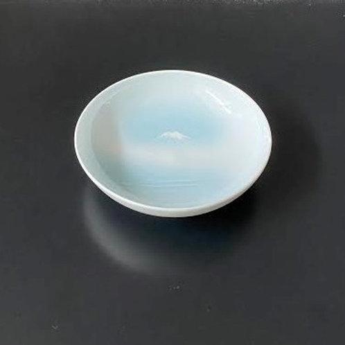 青白磁富士山文小皿 5個セット