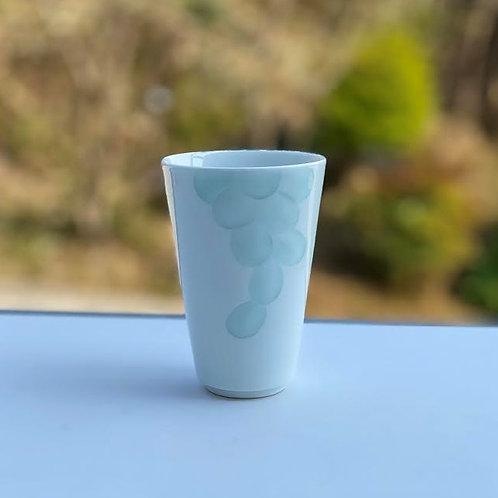 彩青ぶどう文フリーカップ
