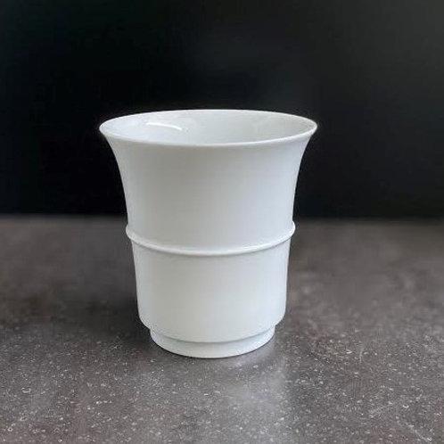 白磁一筋文フリーカップ