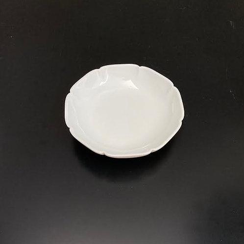 白磁皿(八方割)5個セット
