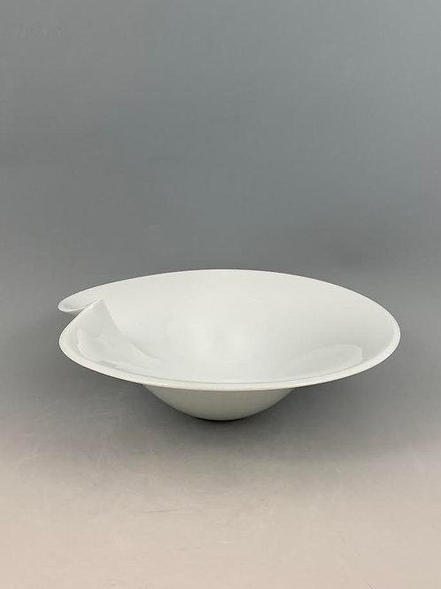 白磁一方花器