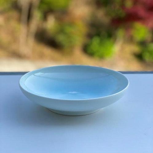 青白磁富士山文皿