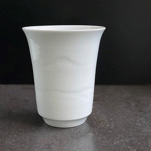 白磁富士山文フリーカップ