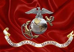 Marine globe and anchor