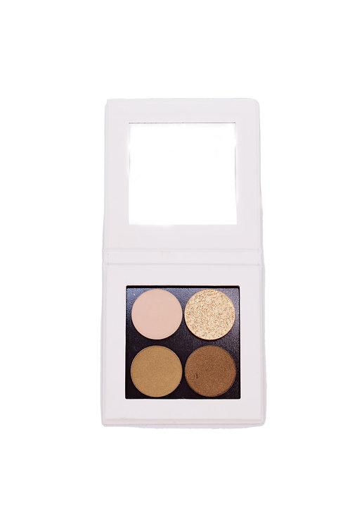 Compact Mineral Eyeshadow WARME tinten