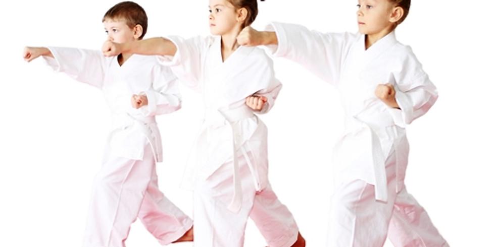 B+T Tiny Tigers Demo Class at Fusion Martial Arts