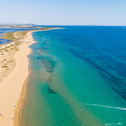 Discovering 3 sandy beaches in Agios Georgios Argirades corfu