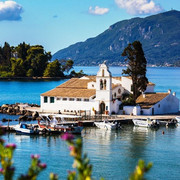 Corfu - Lush hills, sandy beaches and blue-green seas