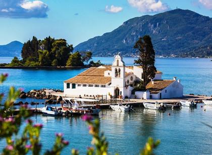 Corfu - Lush hills, sandy beaches and blue-green seas