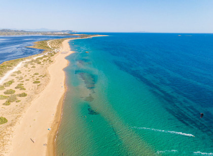 CORONAVIRUS - One of the safest beaches in Europe (Corfu Halikounas beach)