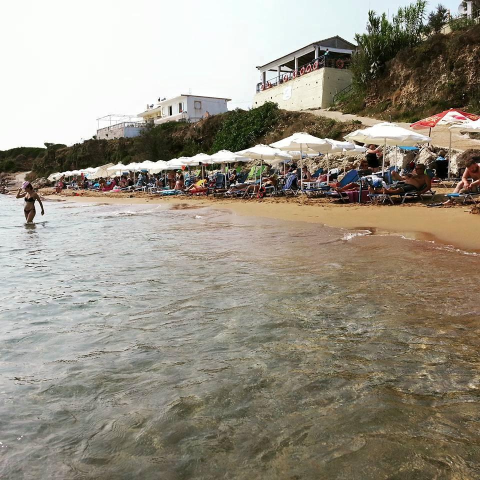 "Agios Georgios Argyrades Beach ""2"" minutes from #Gongisstudios"