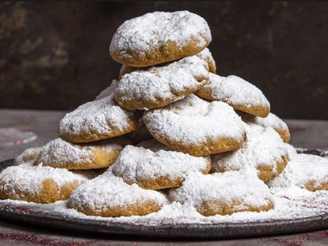 Kourambiedes – the Greek Christmas Cookies