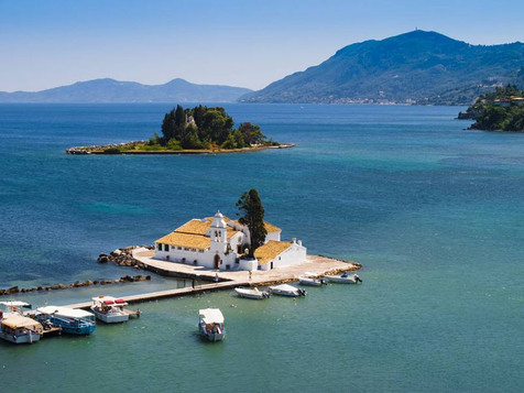 This is undoubtedly one of the most famous attractions on Corfu