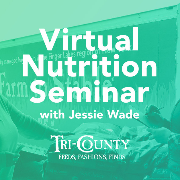 Nutrition Seminar with Jessie Wade--August--Stay Tuned!