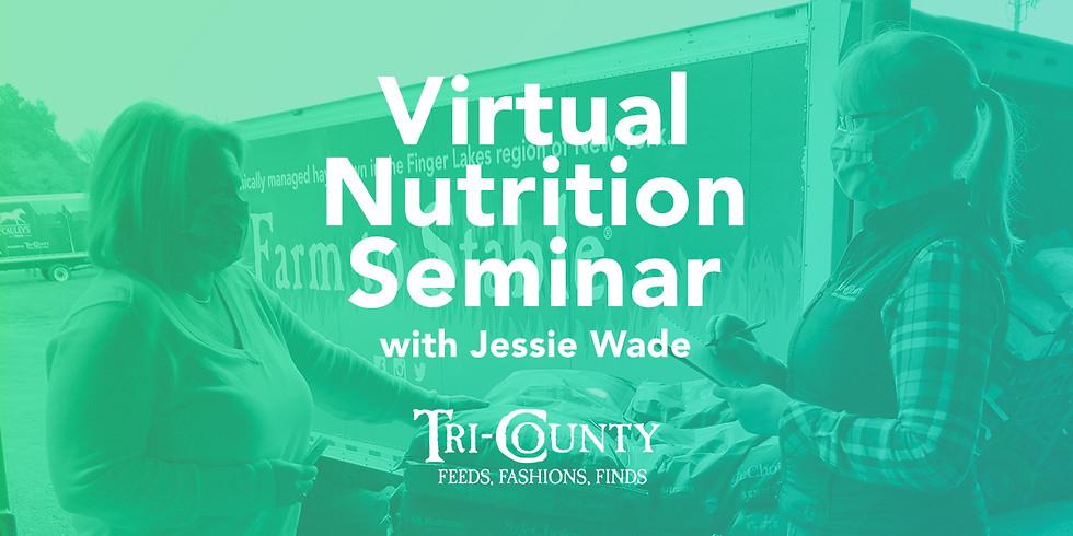 Nutrition Seminar with Jessie Wade
