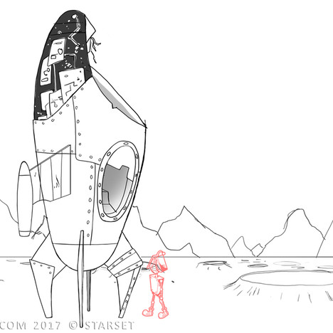 Back to the Earth - Ship Construction 2 Sketch