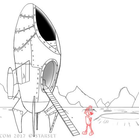 Back to the Earth - Ship Construction 3 Sketch
