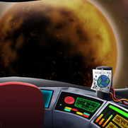 Back to the Earth - Ship Interior