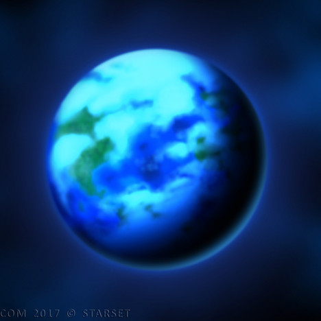 Back to the Earth - Blue Planet