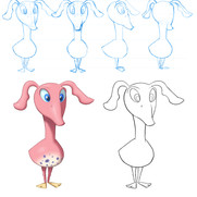 """""""Day at the Zoo"""" - Tootie character sheet"""