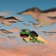 """""""Flying With the Birds"""""""