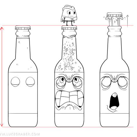 Gumdrop Gauntlet - Soda Bottle character sheet