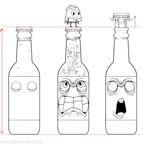 Gumdrop Gauntlet - Soda Bottle character sheet