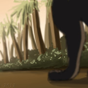 Boy and Panther - Frame 12