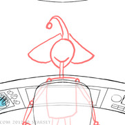 Back to the Earth - Ship Interior Sketch